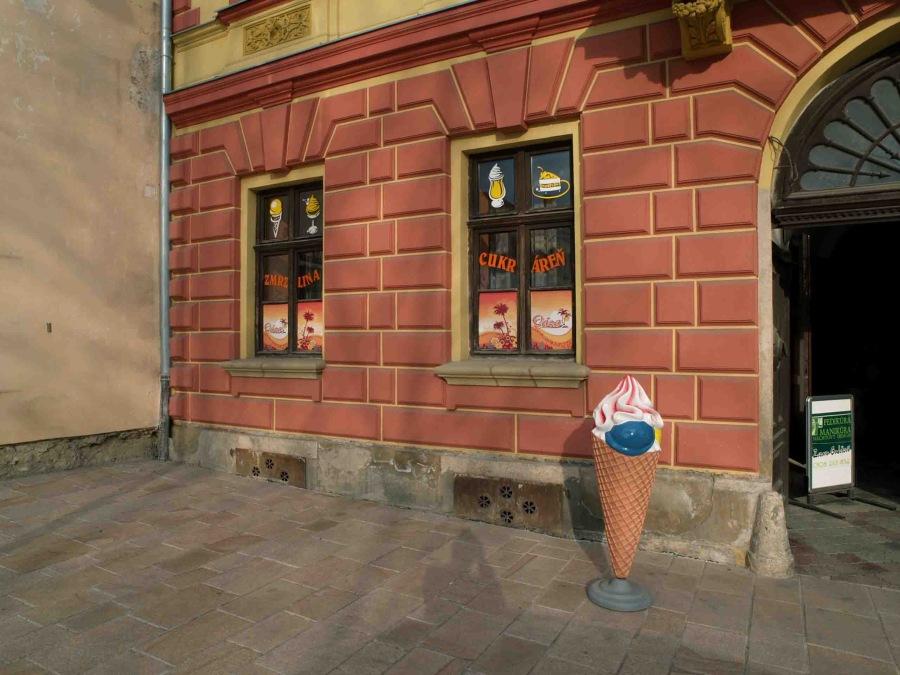 Cukráreň Oáza, Spišské Podhradie